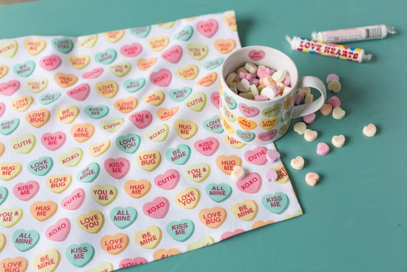 Candy Hearts Mug & Tea Towel - Pot & Pantry | Taste and Tipple