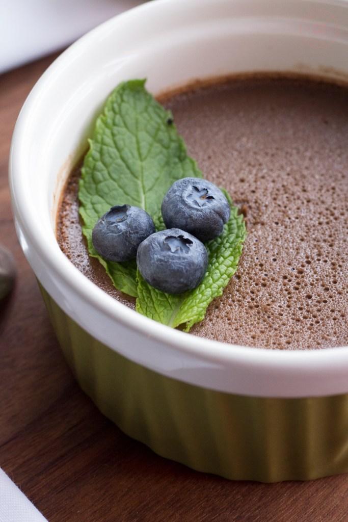 Chocolate Balsamic Pots de Crème   Taste and Tipple