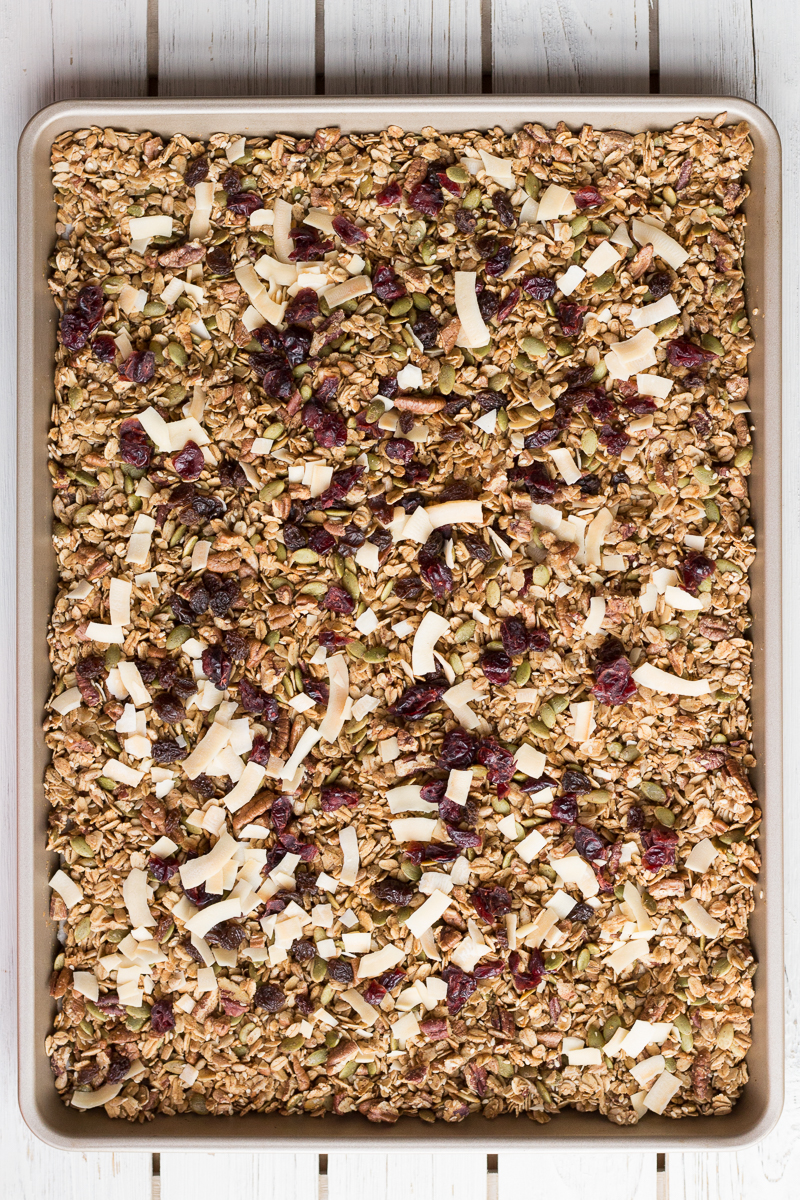 Maple Granola | Taste and Tipple