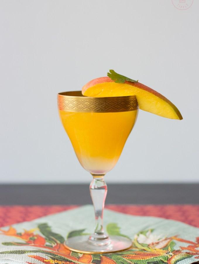 Spicy Mango Margarita | Taste and Tipple