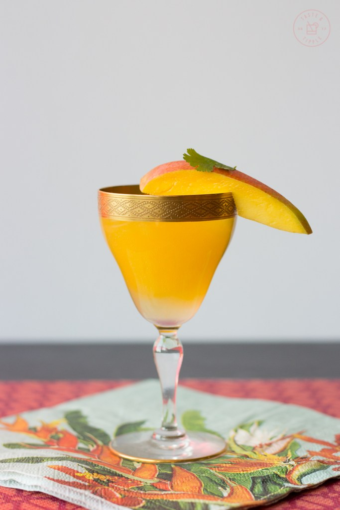 Spicy Mango Margarita | Taste and Tipple