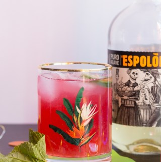 Picante Pineapple-Hibiscus Punch | Taste and Tipple