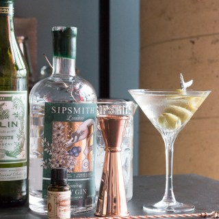 Classic Gin Martini | Taste and Tipple