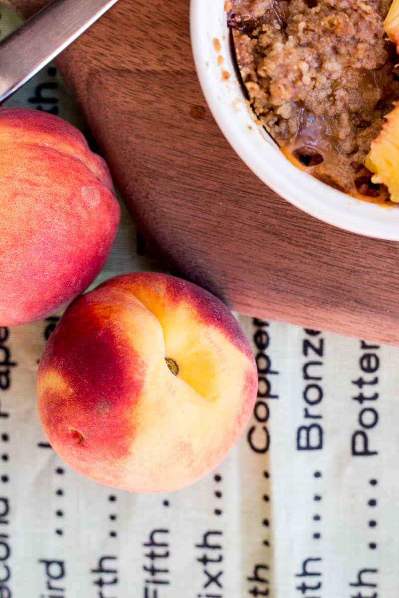 Individual Peach Cobblers | Taste and Tipple