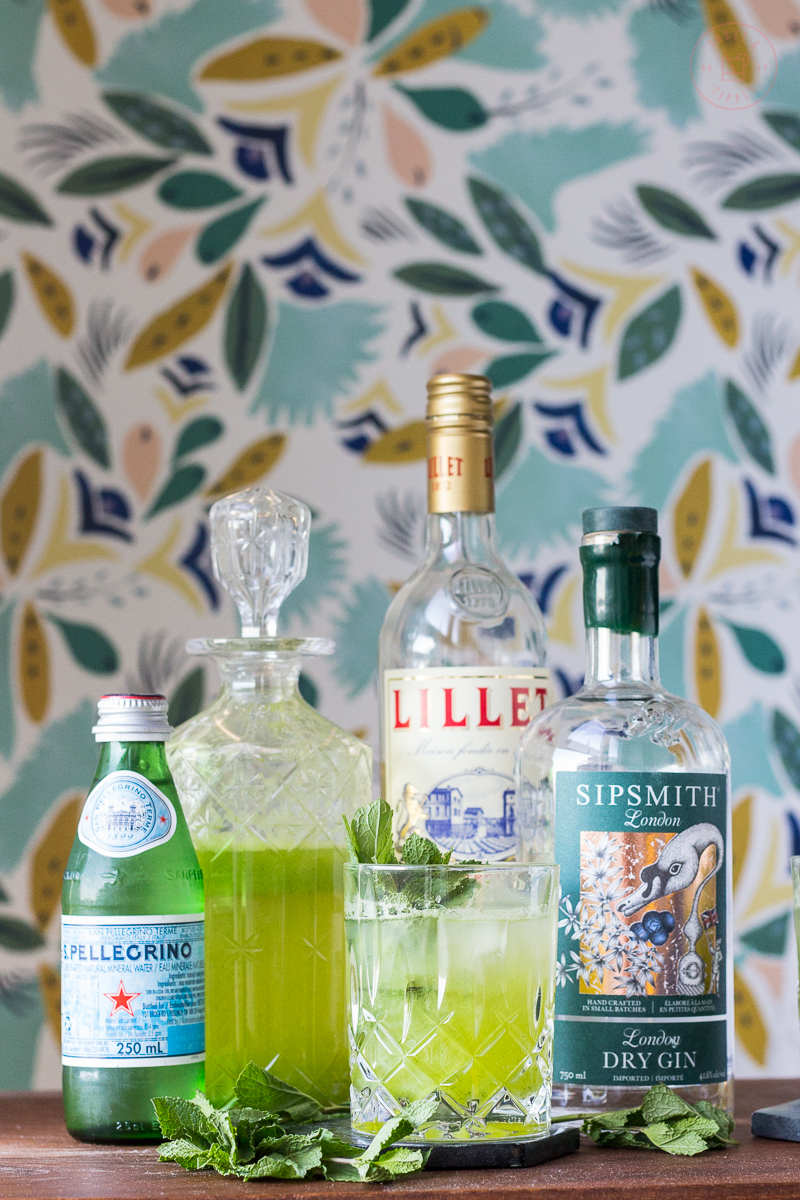Lillet Lady Cocktail | Taste and Tipple