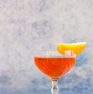 Peachy Keen Boulevardier | Taste and Tipple