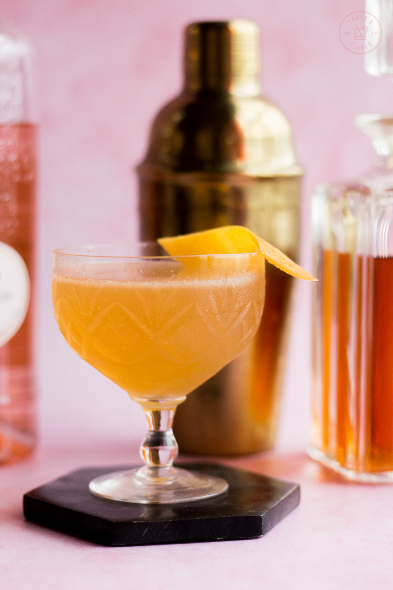 Saddle Up Cocktail   Taste and Tipple