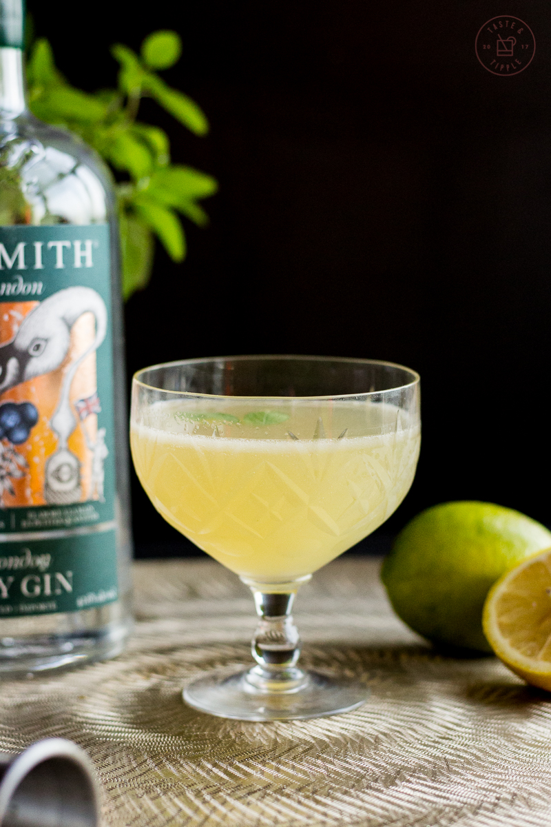 Thai Basil Gin Gimlet | Taste and Tipple