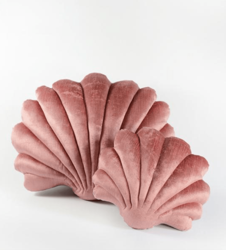 Velvet Shell Pillow in Terracotta | Tamar Morgendorff