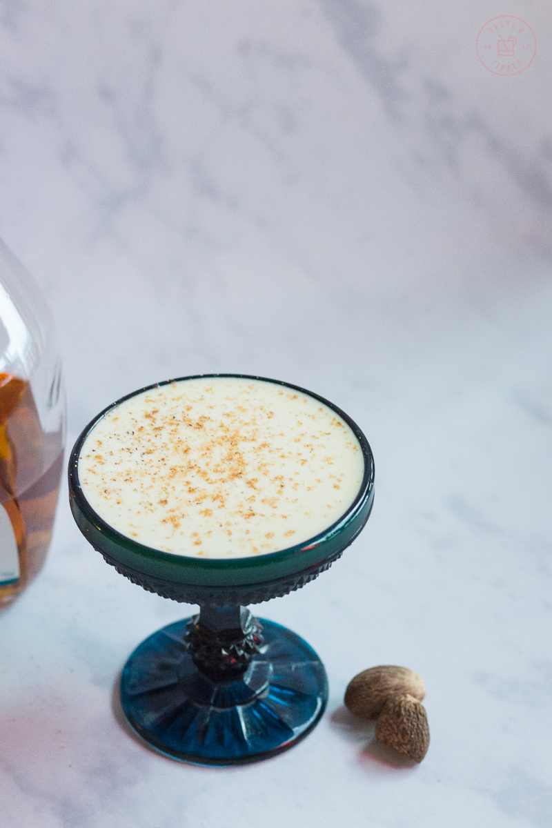 Cognac Ginger Flip | Taste and Tipple