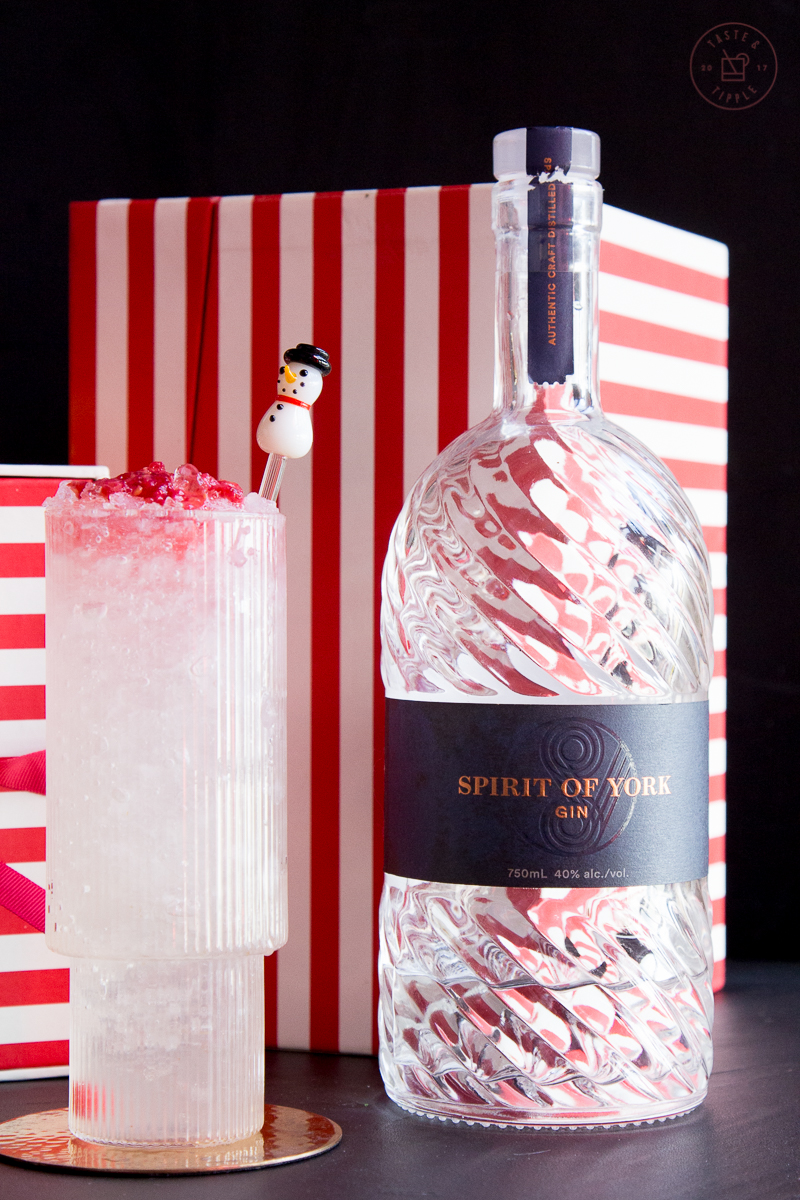 Raspberry Snowdrift | Taste and Tipple