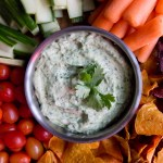 Avocado Cilantro Lime Dip | Taste and Tipple
