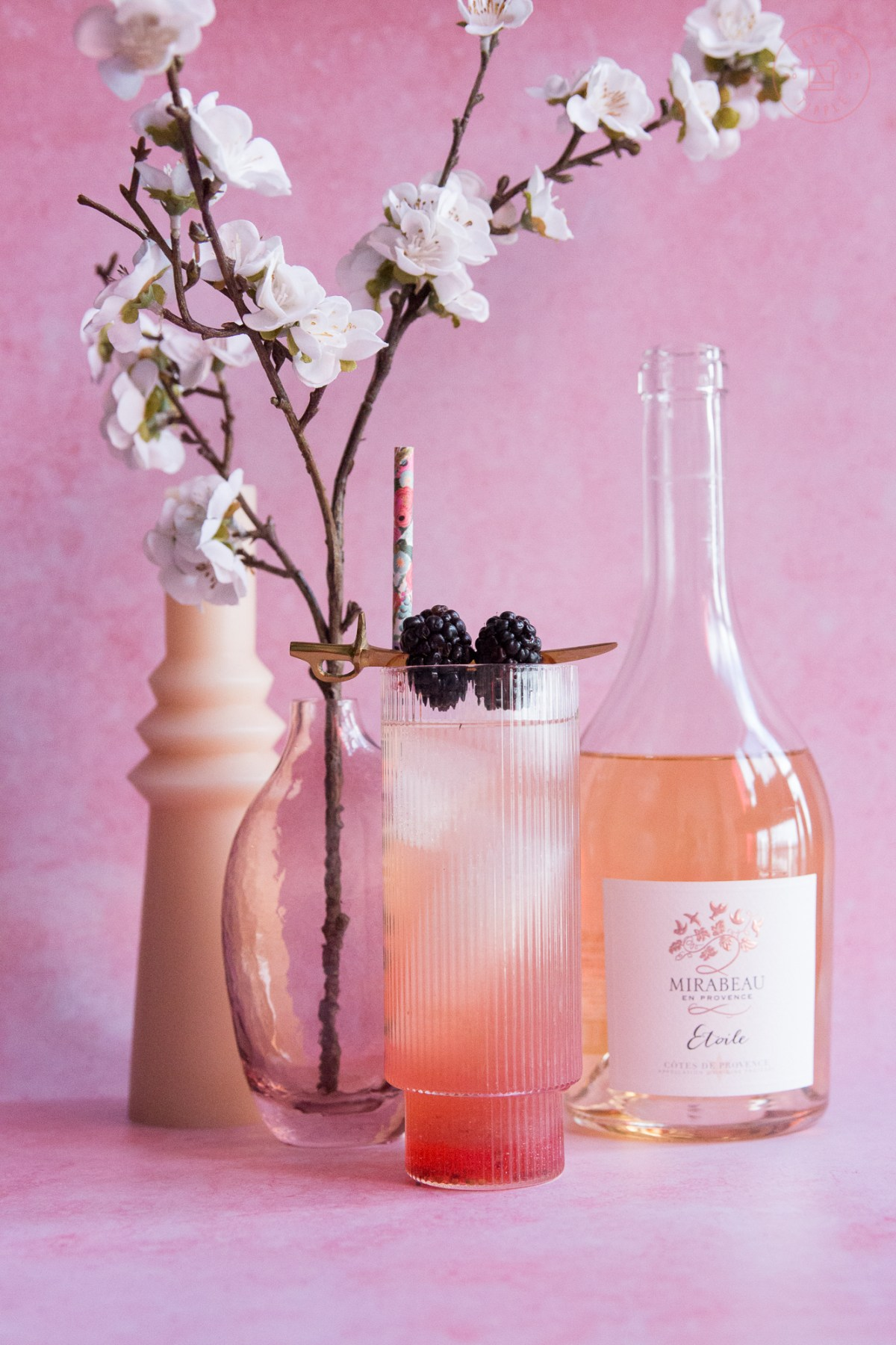 Herbes de Provence Rosé Sangria | Taste and Tipple