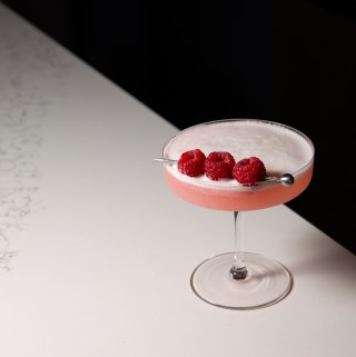 Clover Club Cocktail | Taste and Tipple