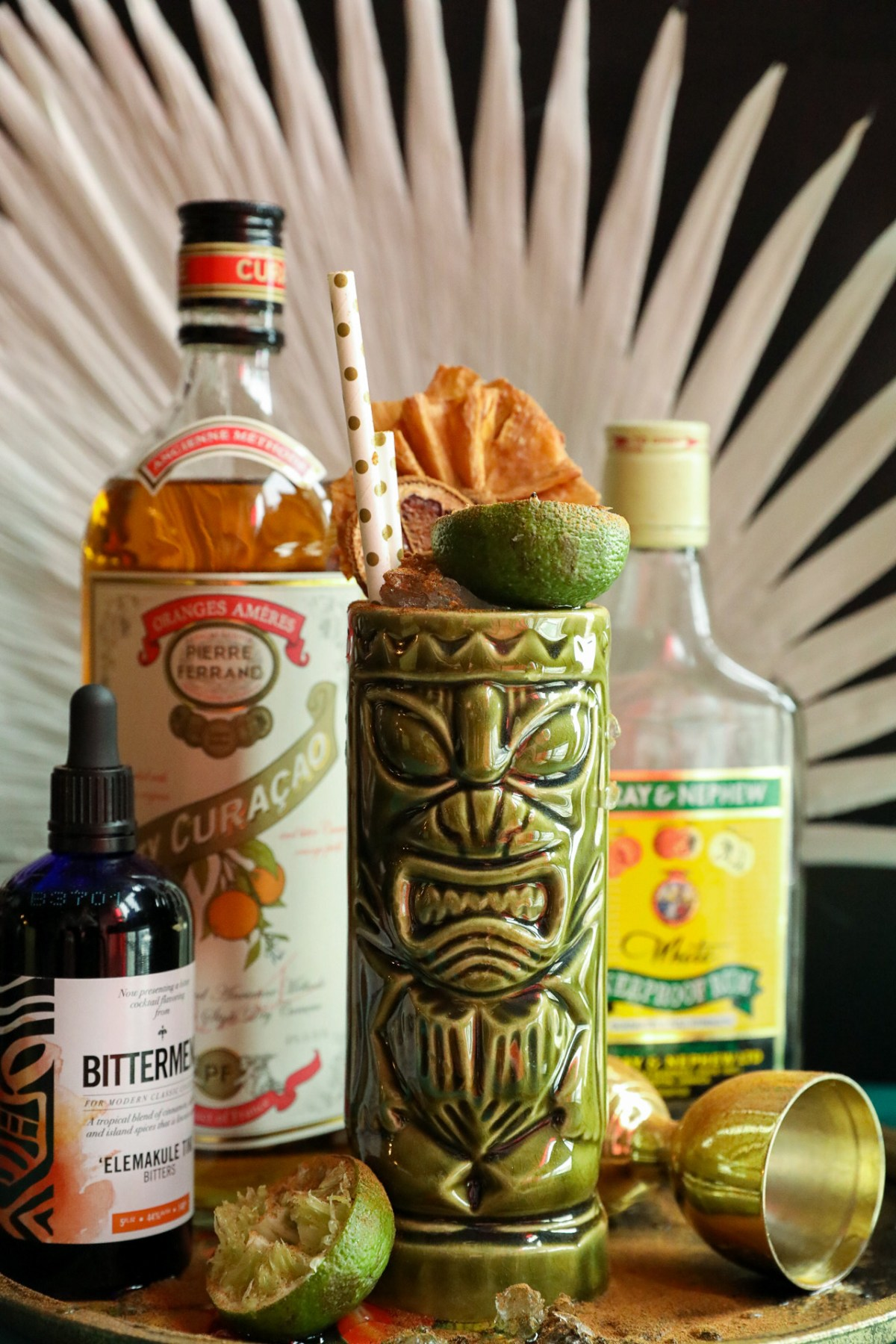 Maneater Tiki Cocktail | Taste and Tipple
