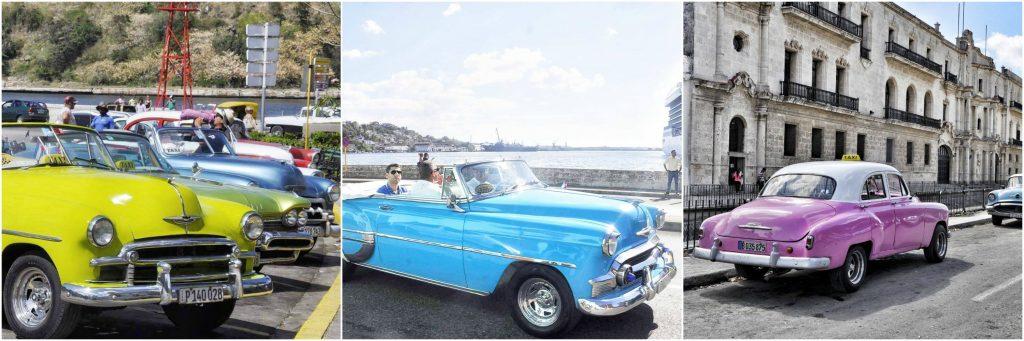 wyjazd na kubę, samochody cuba