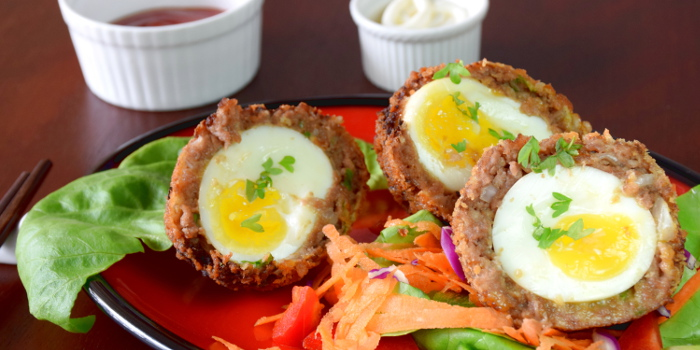 Japanese style Scotch egg