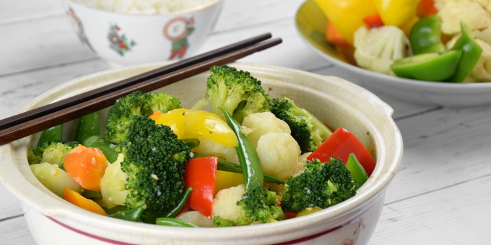 Vegetable stir fry – How to prepare in four easy steps