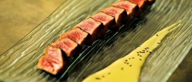 Seared tuna - Cuisine @ Taste Bar & Grill