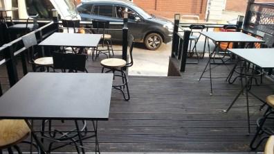 Bao Stir-Fry's Outdoor Seating