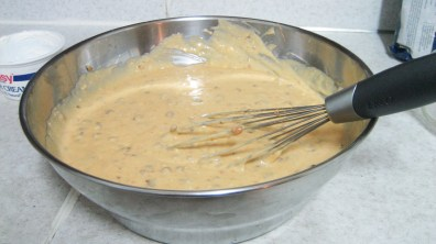 Butterscotch Rum Pound Cake's Mixture