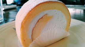 Milk Roll Cake at Chansbros Coffee