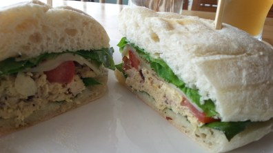 Cranberry Chicken Sandwich at House on the Hill