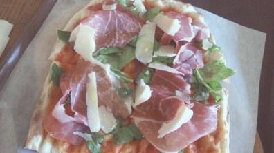 Prosciutto Crudo Pizza at Trevia Pizza di Roma