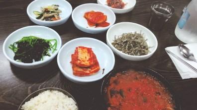 Kimchi Jjigae Meal at Gajeongsik Baekban