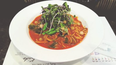 Vegetable and Bean Tomato Pasta at Dr. Robbin