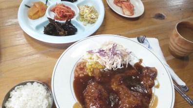 Donkasseu Meal at Sanmo Tungee