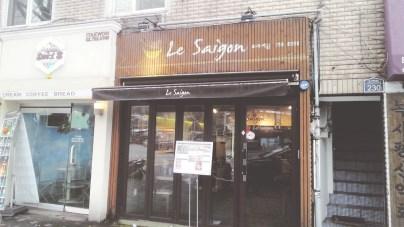Le Saigon's Exterior