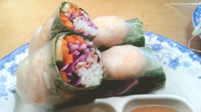 Fresh Spring Rolls (Goi Cuon) at Le Saigon
