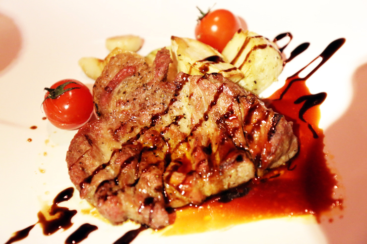 Tenderloin Steak at The Vault (Photo Credit: The Vault)