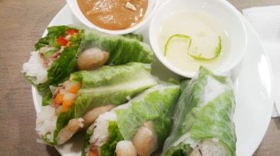 Fresh Spring Rolls at Pho for You