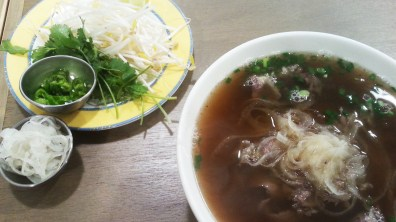 Well-done Beef Brisket Pho at Pho for You