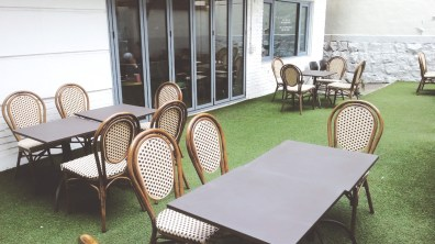 Magnolia Design Cafe's Outdoor Seating