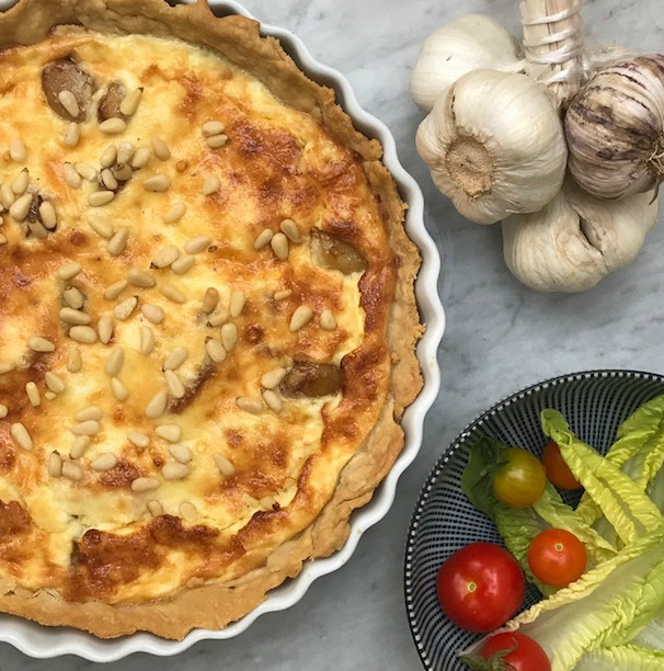Garlic Tart