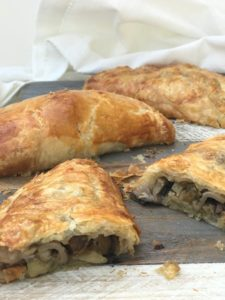 Vegetarian Mushroom and Chestnut Pies