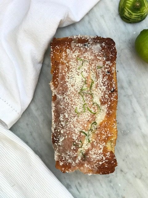 Lime Drizzle Cake with Coconut