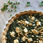 Spinach Tart with Nutmeg