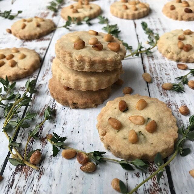 Thyme Biscuits (Thyme Cookies)