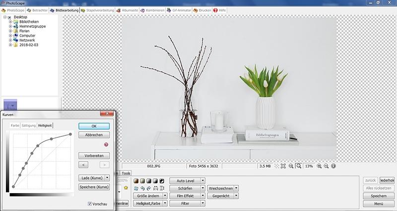 Bildbearbeitung mit PhotoScape: Wie ich meine Deko- und Interior-Fotos bearbeite. Tasteboykott.