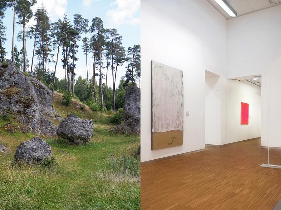 GNM Nürnberg Kunst des 20. Jahrhunderts // Schäbische Alb Felsenmeer. Reisen Fotografie Tasteboykott.