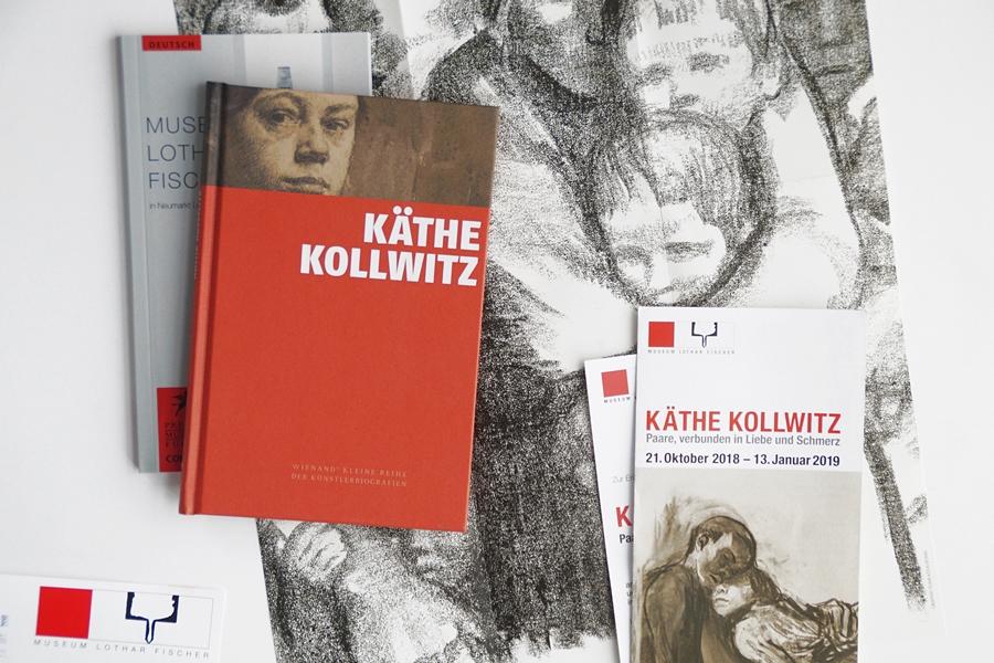 Käthe Kollwitz Ausstellung im Lothar-Fischer-Museum Neumarkt.