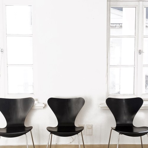 Arne Jacobsen Serie 7 Stühle