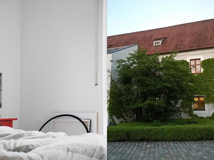 Jugendzimmer zuhause skandinavisch modern minimalistisch weiß einrichten