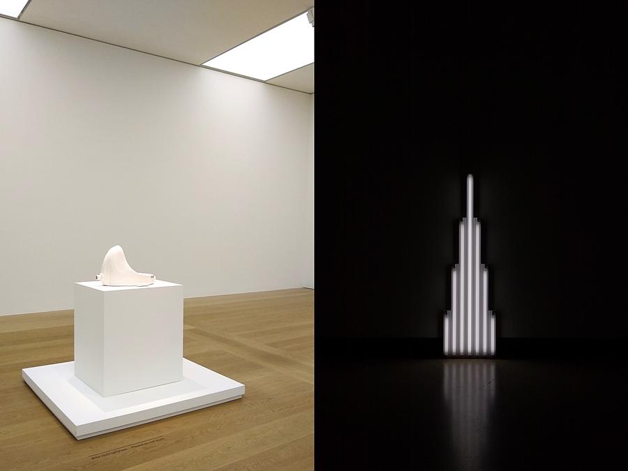 Ikonen-Ausstellung in der Bremer Kunsthalle: Marcel Duchamp und Dan Flavin.
