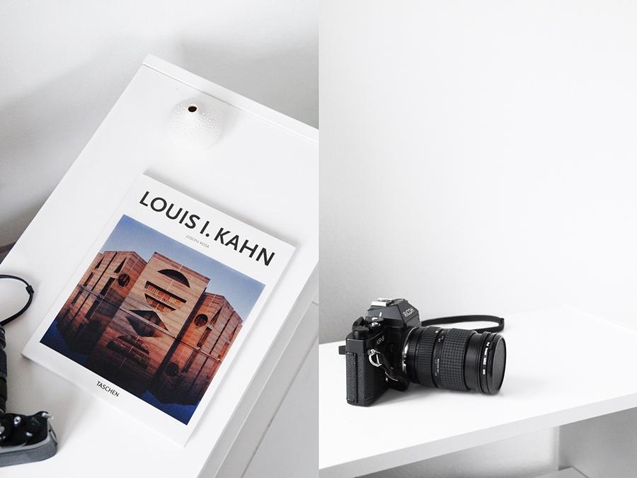 Kunstbuch zu Louis I. Kahn und analoge Fotografie