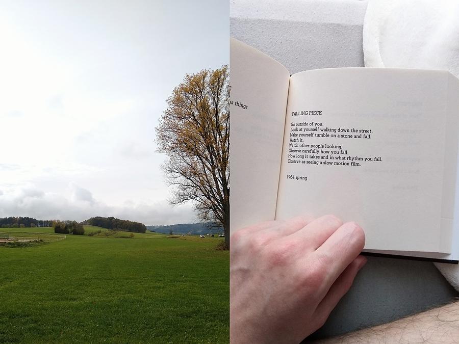 November | Yoko Ono Grapefruit-Instruktionen Buch